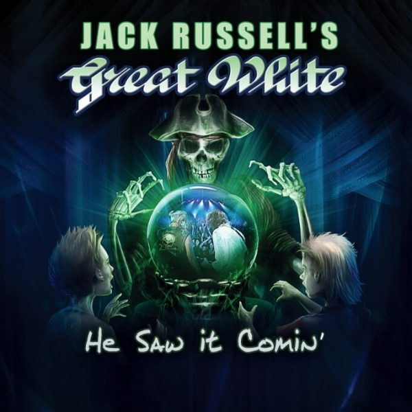 Jack Russell's Great White - He Saw It Coming (LP)