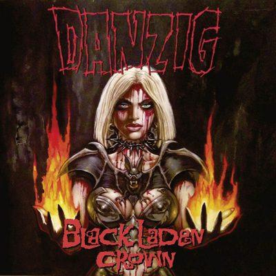 Danzig - Black Laden Crown (Clear Orange LP)