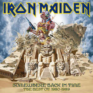 Iron Maiden - Somewhere Back In Time - The Best Of: 1980-1989 (Jewel Case CD)