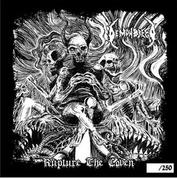 "Demonbreed / The Dead Goats - Rupture The Coven / The Gloom That Came To Salem (7"" Split)"