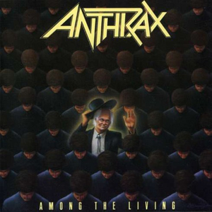 Anthrax ‎– Among The Living (Jewel Case CD)