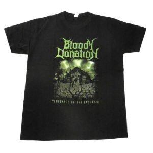 Bloody Donation - Vengeance Of The Enslaved Artwork T-Shirt