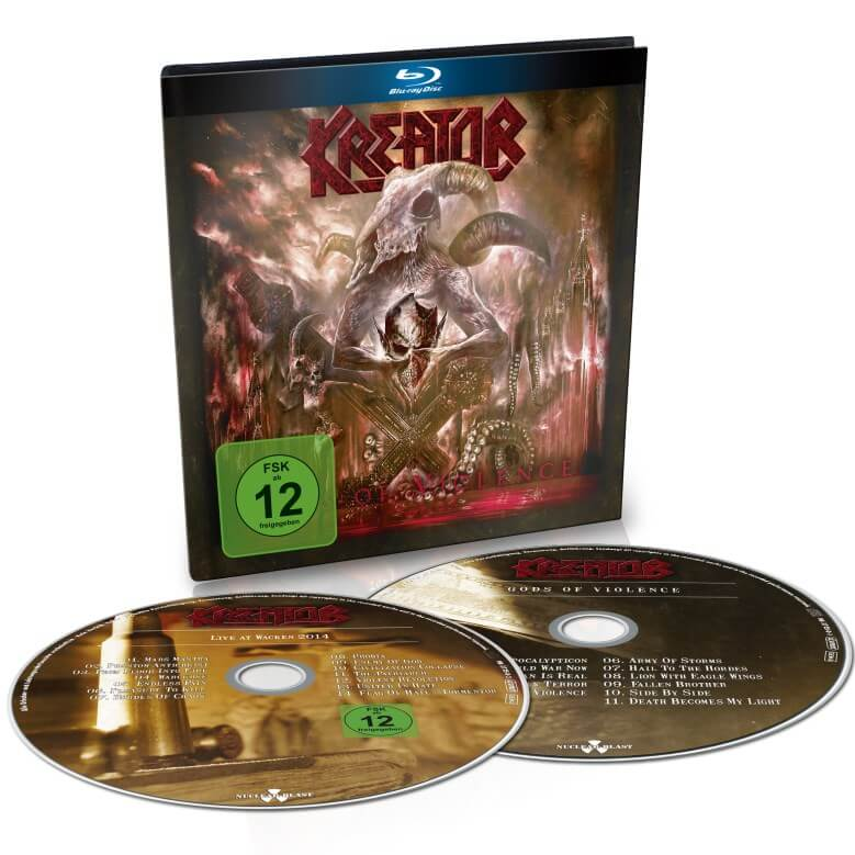 Kreator - Gods Of Violence (Digibook CD & Bluray)