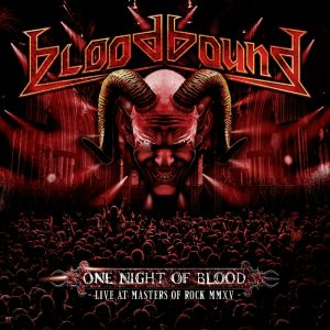 Bloodbound - One Night Of Blood - Live At Masters Of Rock MMXV (Digipack CD & DVD)