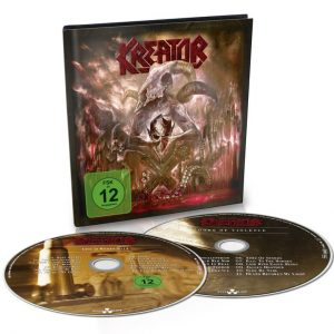 Kreator - Gods Of Violence (Digibook CD & DVD)