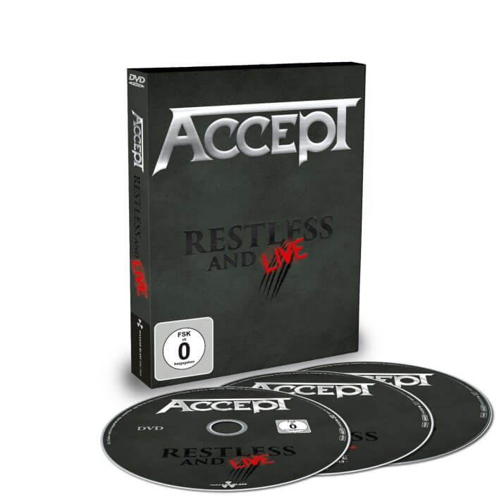 Accept - Restless & Live - Blind Rage - Live In Europe 2015 (Double CD & DVD)