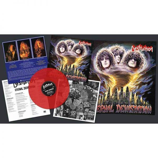 Destruction - Eternal Devastation (Transparent Blood Red LP)