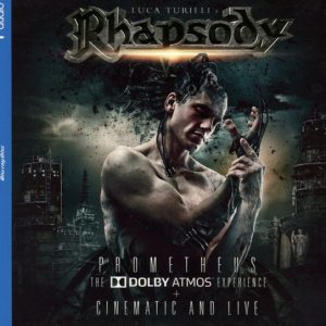 Luca Turilli's Rhapsody - Prometheus (The Dolby Atmos Experience) (Digipack Bluray & Double CD)