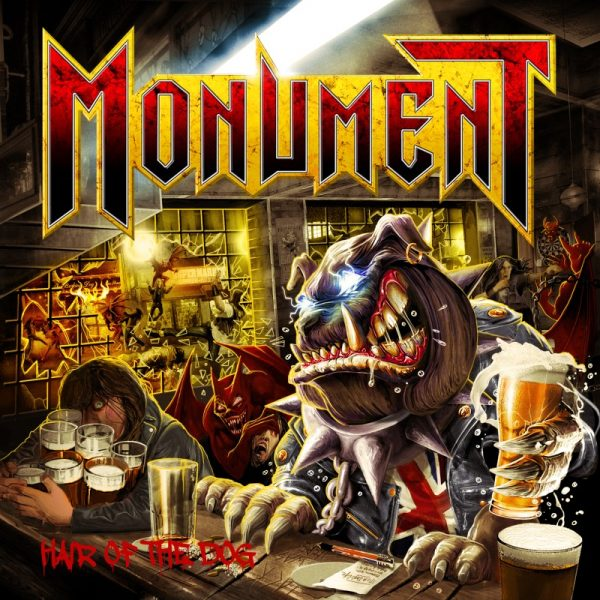 Monument - Hair Of The Dog (Jewel Case CD)