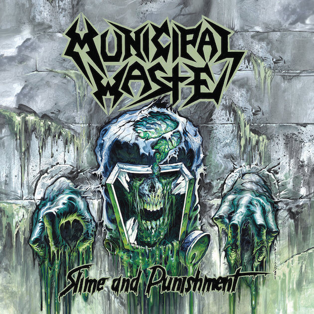 Municipal Waste - Slime And Punishment (Jewel Case CD)