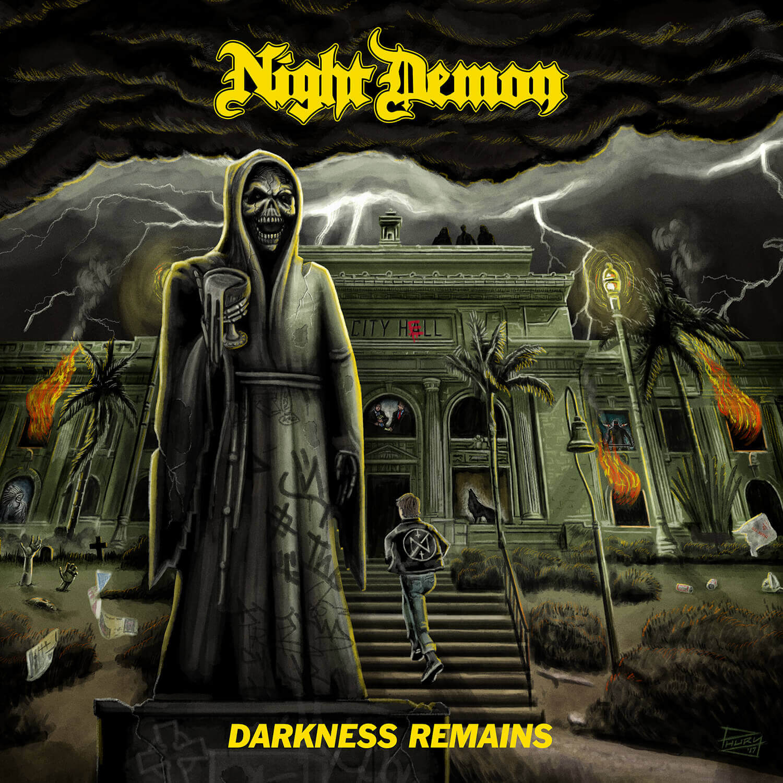 Night Demon – Darkness Remains (Green LP & CD)