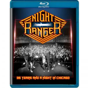 Night Ranger - 35 Years And A Night In Chicago (Bluray)