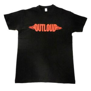 Outloud - Red Logo T-Shirt