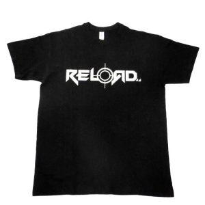 Reload - Silver Logo T-Shirt