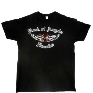 Rock Of Angels Records - Old-School Logo T-Shirt