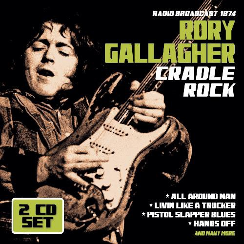 Rory Gallagher - Cradle Rock (Double Jewel Case CD)