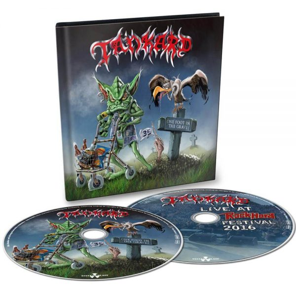 Tankard - One Foot In The Grave (Digibook Double CD)