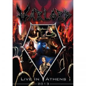 Warlord - Live in Athens 2013 (DVD & Double CD)