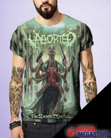 Aborted - The Necrotic Manifesto T-Shirt
