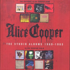 Alice Cooper - The Studio Albums 1969-1983 (Boxset 15 CD)