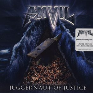Anvil - Juggernaut Of Justice (Digipack CD)