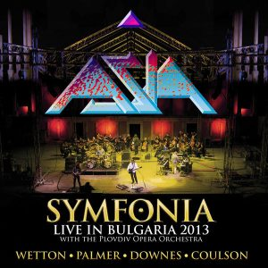 Asia - Symfonia Live In Bulgaria 2013 (Double Black LP)