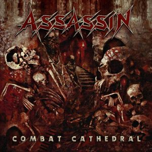 Assassin - Combat Cathedral (Red LP & CD)