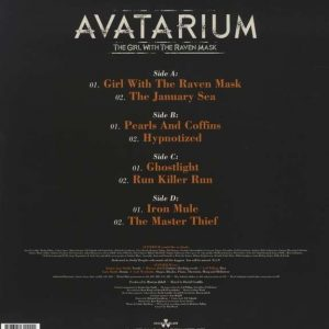 Avatarium - The Girl With The Raven Mask (Double LP)