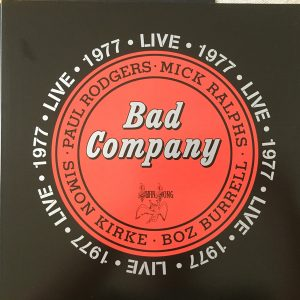 Bad Company - Live 1977 (Double LP)