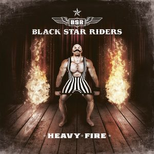 Black Star Riders - Heavy Fire (Black LP)