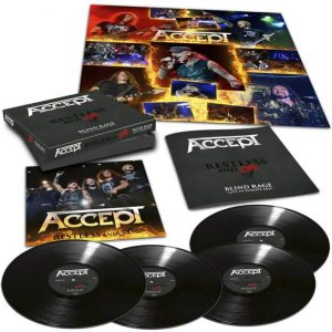 Accept - Restless & Live - Blind Rage - Live In Europe 2015 (Special Boxset)