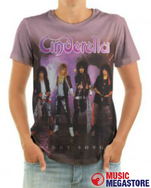 Cinderella - Night Songs T-Shirt