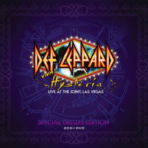 Def Leppard ‎– Viva! Hysteria - Live At The Joint, Las Vegas (Digipack CD & DVD)