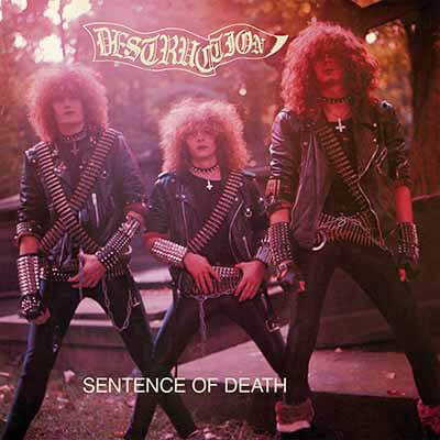 Destruction - Sentence Of Death (EU Cover Transparent Purple LP)