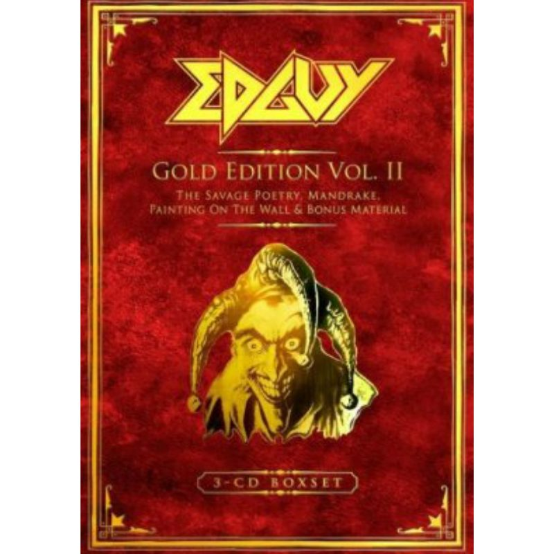 Edguy - Gold Edition Vol. II (Digibook 3CD Deluxe Edition)