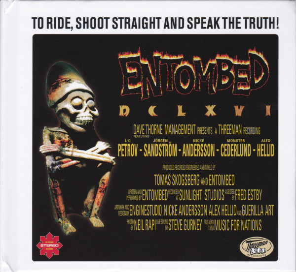 Entombed - DCLXVI To Ride, Shoot Straight And Speak The Truth (Double CD)