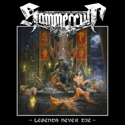Hammercult - Legends Never Die (Vinyl EP & CD)