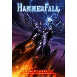 Hammerfall - Rebels With A Cause (A5 Digipack DVD & CD)