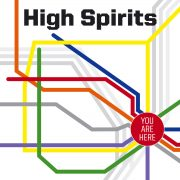 High Spirits - You Are Here (Transparent Ultra Clear LP)