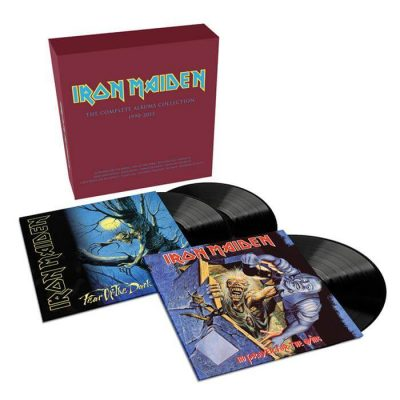 Iron Maiden - The Complete Albums Collection 1990 - 2015 (Special Boxset)