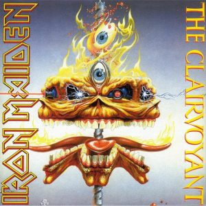 "Iron Maiden - The Clairvoyant / The Prisoner (7"" Single)"