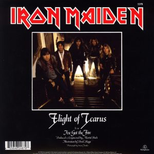 "Iron Maiden - Flight Of Icarus / I've Got The Fire (7"" Single)"