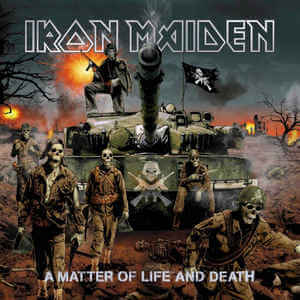 Iron Maiden - A Matter Of Life And Death (Jewel Case CD)