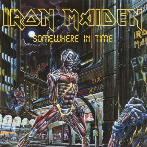 Iron Maiden - Somewhere In Time (Jewel Case CD)