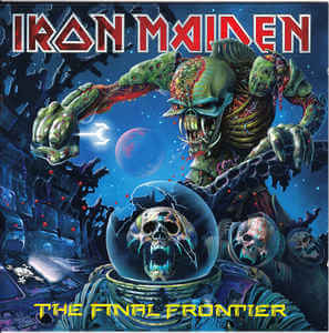 Iron Maiden - The Final Frontier (Jewel Case CD)