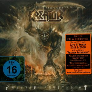 Kreator - Phantom Antichrist (Digipack CD & DVD)