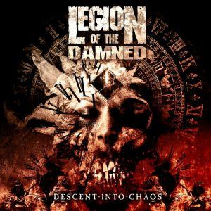 Legion Of The Damned - Descent Into Chaos (Digipack CD & DVD)