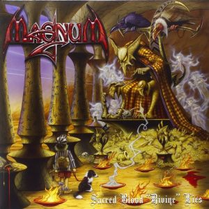 Magnum ‎– Sacred Blood Divine Lies (Digipack CD & DVD)