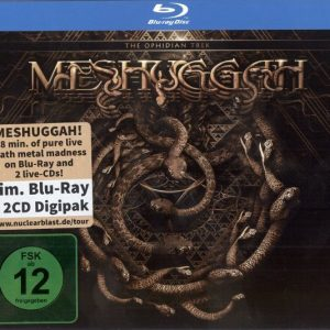 Meshuggah - The Ophidian Trek (Digipack Bluray & Double CD)