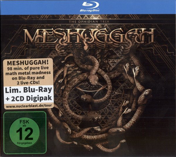 MESHUGGAH - Dancers To A Discordant System / The Ophidian Trek (OFFICIAL LIVE VIDEO)